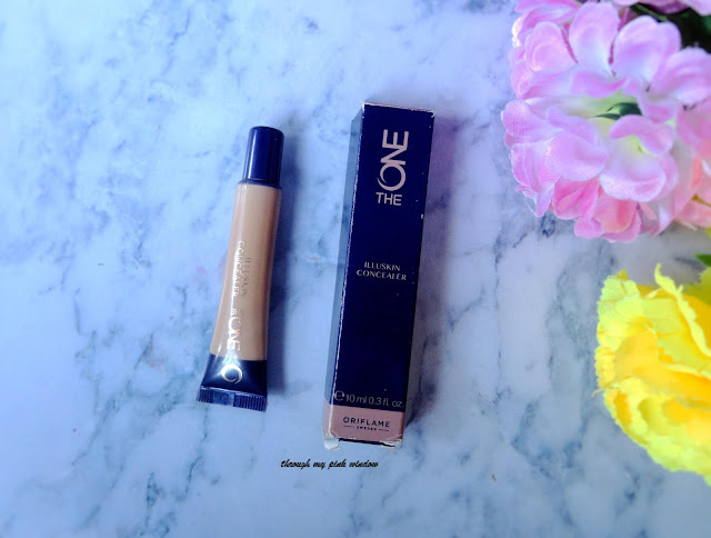 Oriflame the One illuskin Concealer in shade 02 Nude Pink : Review and Swatch