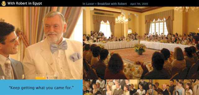 Asaf Braverman and Robert Earl Burton Fellowship of Friends cult leaders in Egypt