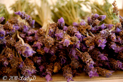Dried Lavender: LadyD Books