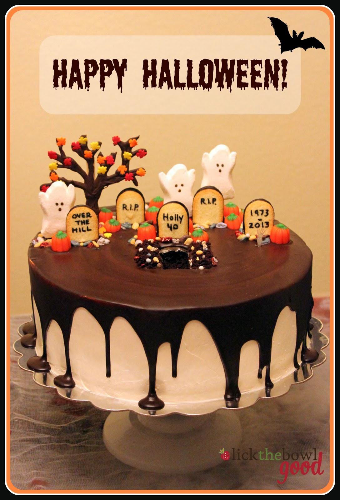 Halloween Birthday Sheet Cakes