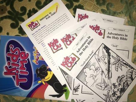 اثبات وصول كتب ورسومات أطفال مجانا وصلتني الى باب منزلي