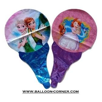 Balon Foil Raket Karakter / Balon Souvenir Ulang Tahun Karakter (MURAH)