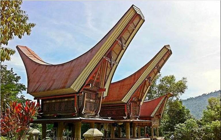 Desain Rumah Adat Sulawesi Selatan Rumah Tongkonan