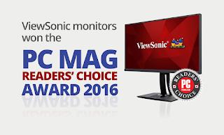 ViewSonic Computer Monitors Bags PCMag Readers Choice Award