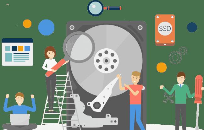 افضل برامج إدارة و تقسيم الاقراص الصلبة للويندوز بدون فورمات