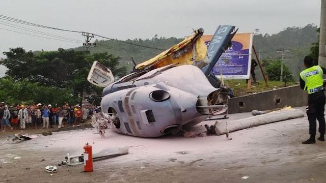 Helikopter Jatuh di Morowali Angkut Warga China, Berikut Namanya