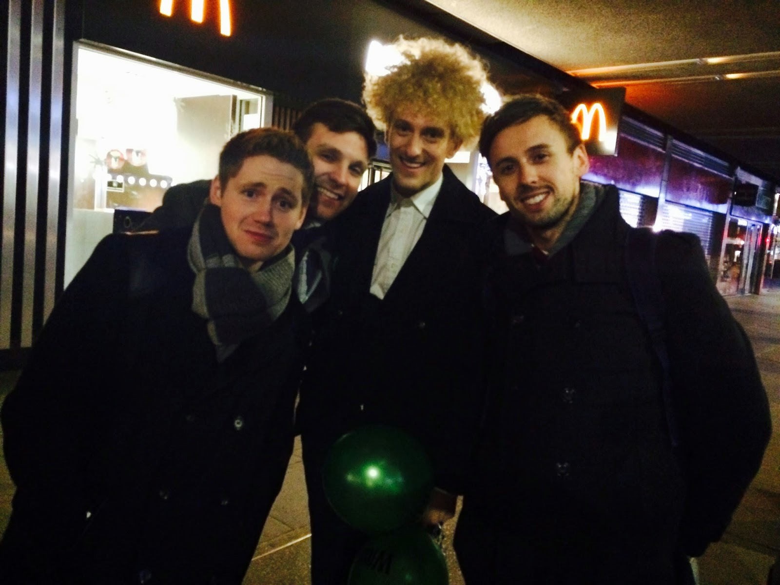 Wicked Musical London Party David Ribi Jamie Body