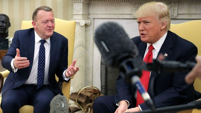 Danish Prime Minister Lars Lokke Rasmussen with Trump: Denmark not a socialist state, but a social welfare state