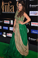 Manjusha in Beautiful Sleeveless Green Anarkali dress at IIFA Utsavam Awards 27.JPG