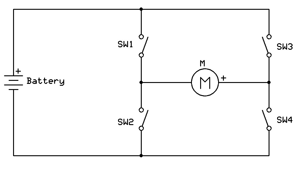 Ham Radio Mipl H Bridge Motor Driver Using Mosfet S And