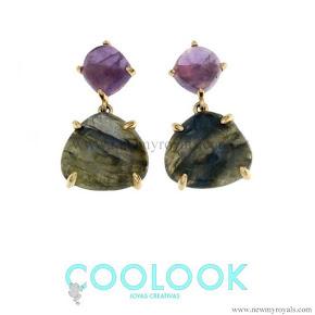 Queen Letizia wear Coolook Jewelry Sila Earrings