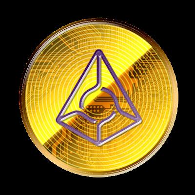 仮想通貨オーガーのフリー素材(金貨ver)