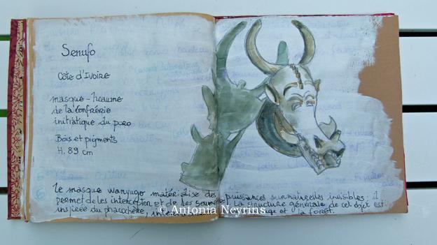 stage carnet de voyage antonia neyrins pat masioni paris afrique dessin aquarelle croquis atelier workshop