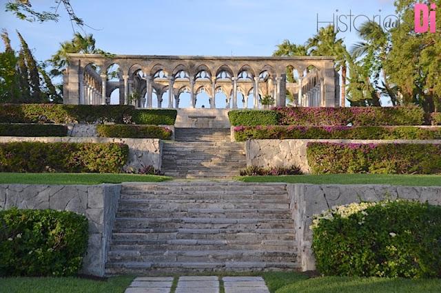 Jardim de Versailles do Resort One&Only Ocean Club em Paradise Islands