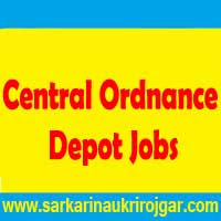 Central Ordnance Depot Jabalpur Recruitment
