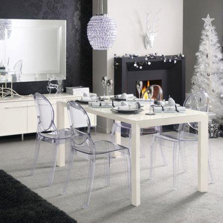astounding black white christmas living room | Christmas Decoration: Ideas for White Christmas trees ...