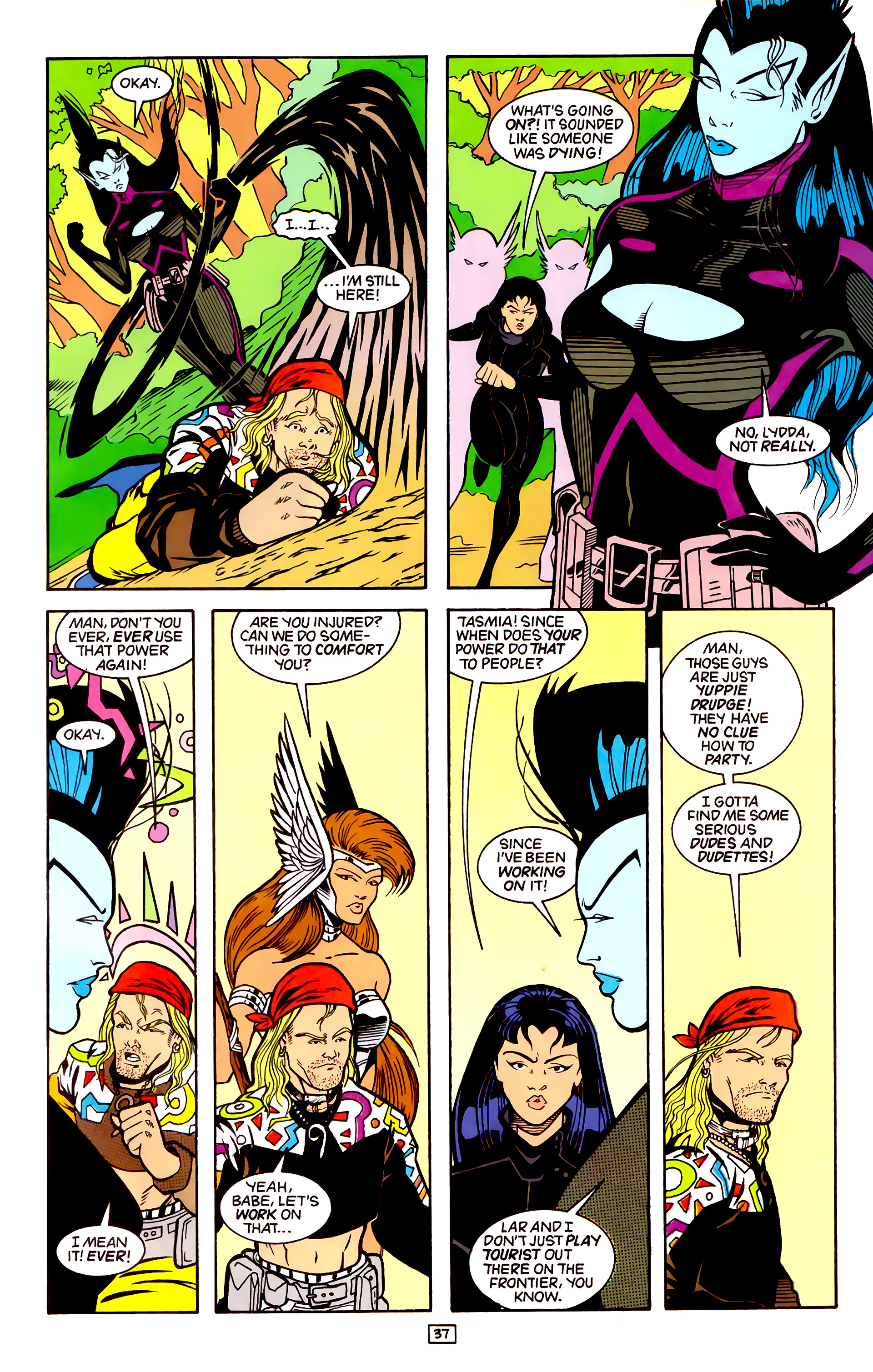 Legion of Super-Heroes (1989) _Annual_4 Page 37