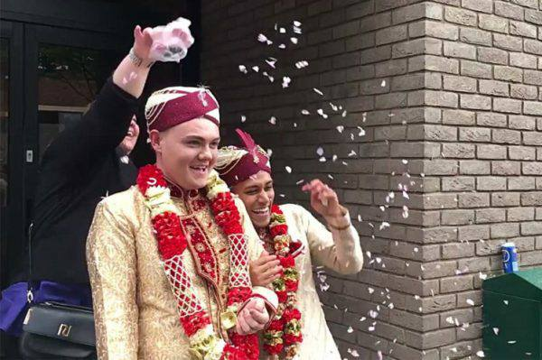 The first Ever Gay Muslim Wedding Takes Place In United Kingdom