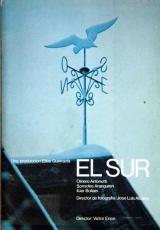 """Carátula del DVD: """"El Sur"""""""