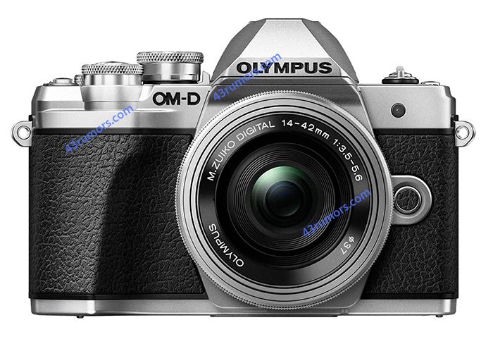 Olympus OM-D E-M10 Mark III, вид спереди
