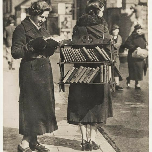 the round button blog, vintage photo books & girls