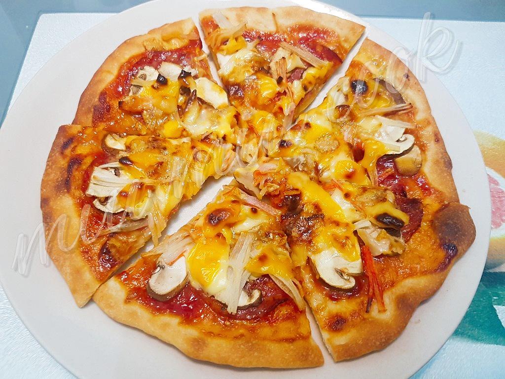 家中有煮@ miu miu cook: 意式Pizza 底皮做法