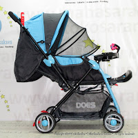 Does DS-236H Loco Baby Stroller Front Facing Rear