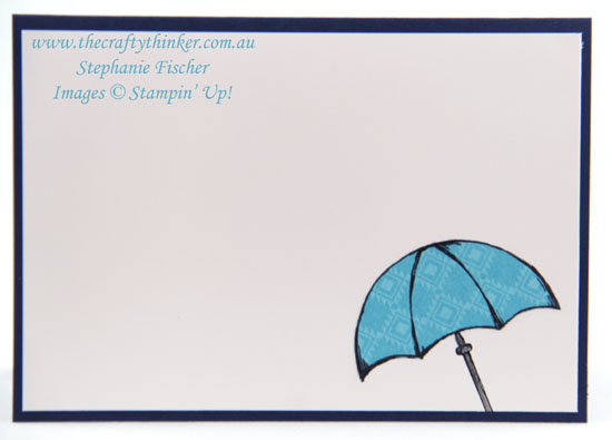 #thecraftythinker, #crazycraftersbloghop, Beautiful You, Weather Together, Spotlight Technique, Stampin Up Australia Demonstrator, Sydney NSW