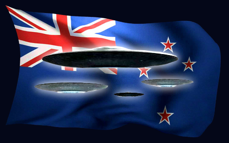 UFO Files Held By New Zealand Government