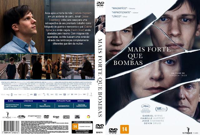 Capa DVD Mais Forte Que Bombas