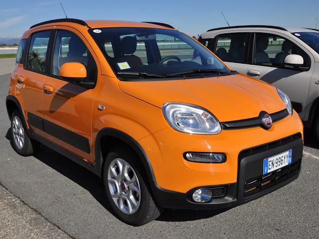 2013 Fiat Panda Trekking Side Rear