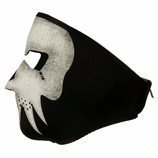 Glow in the Dark Biker Mask