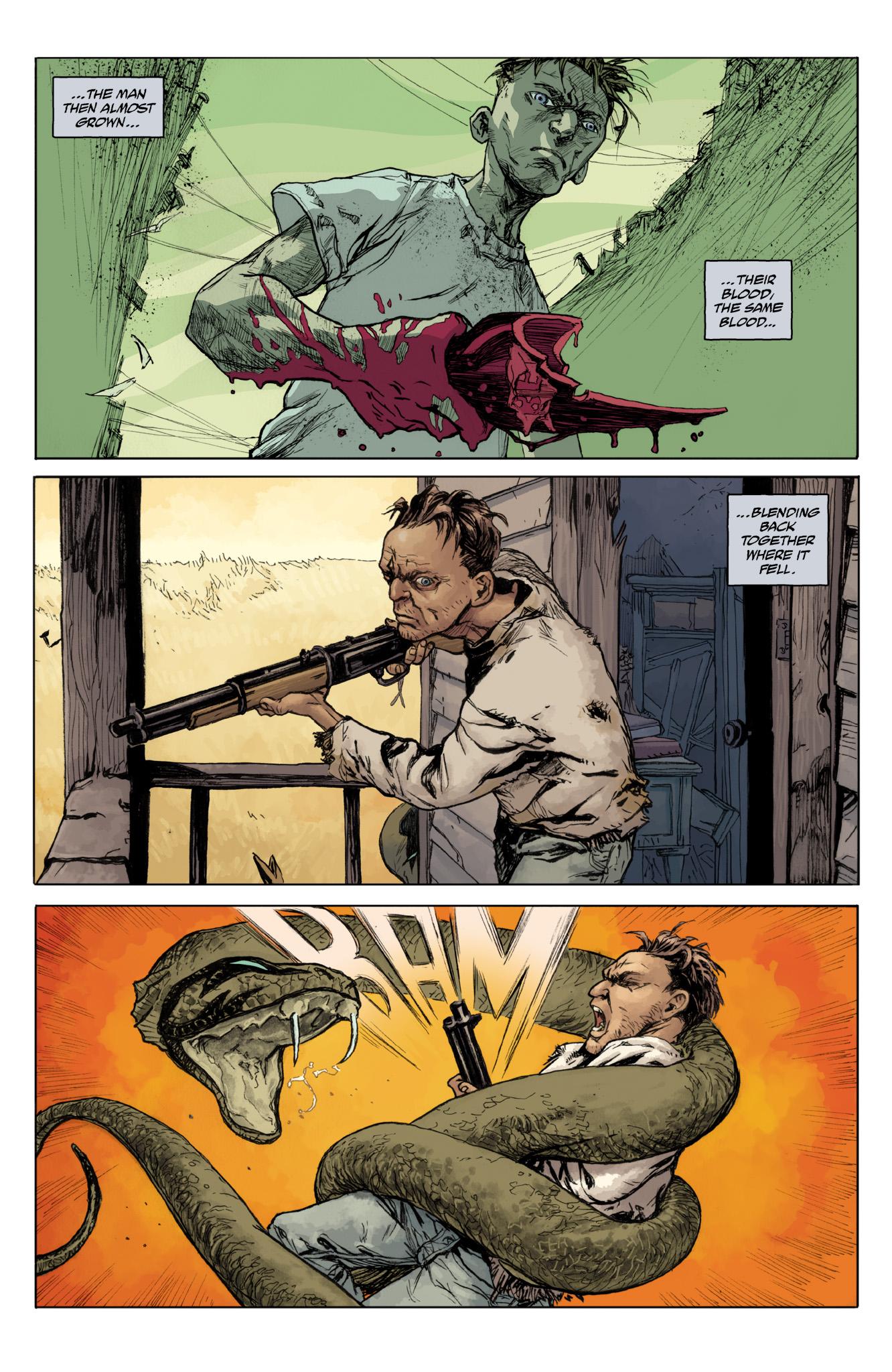 Read online Abe Sapien comic -  Issue #12 - 21