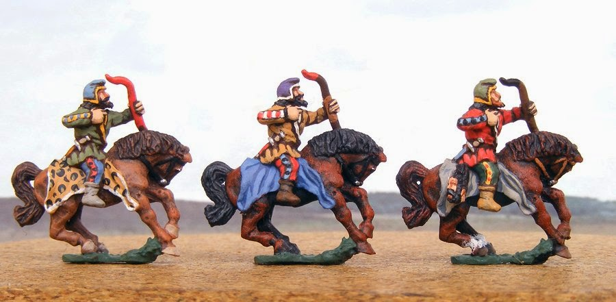 Miniature Soldiers: Scythian horse archers, 2nd pose