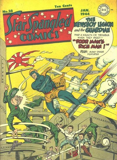 Jack Kirby Newsboy Legion