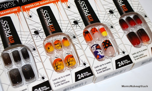 imPRESS Press-On Manicures for Halloween 2014 Collection (Details, Photos & How-to Video) - Moms Makeup Stash - A Beauty/Lifestyle Blog