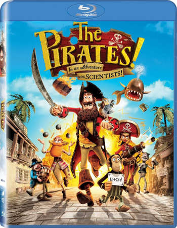Poster Of The Pirates! Band of Misfits 2012 English 300MB BRRip 480p ESubs Free Download Watch Online
