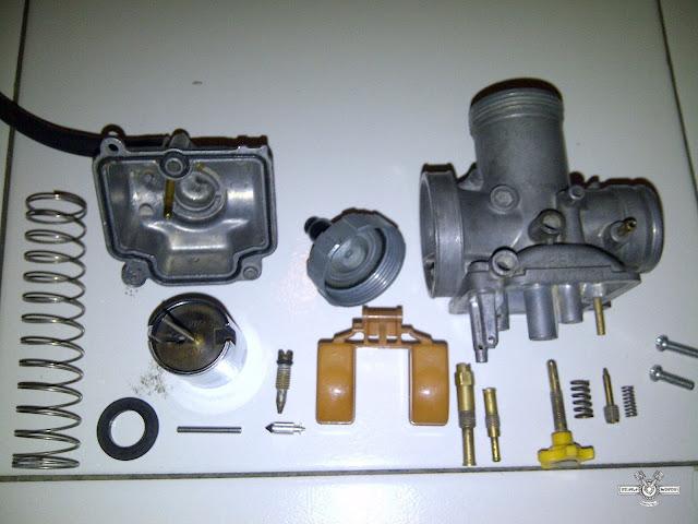 Setel Karburator PE 28