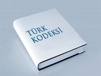 Beyaz renkli Türk Kodeksi kitabı
