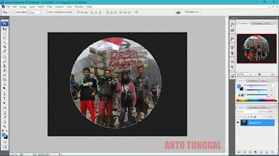 cara mudah membuat fisheye menggunakan photoshop