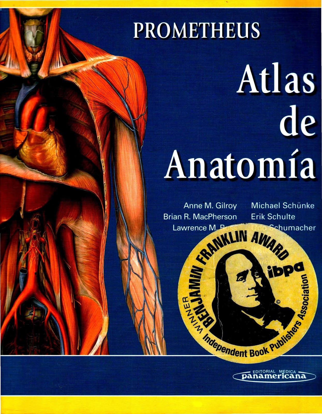 Prometheus. Atlas de Anatomía – Anne M. Gilroy | LibrosVirtual