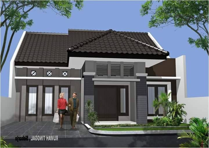 72 model rumah sederhana terbaru yang terlihat mewah cocok