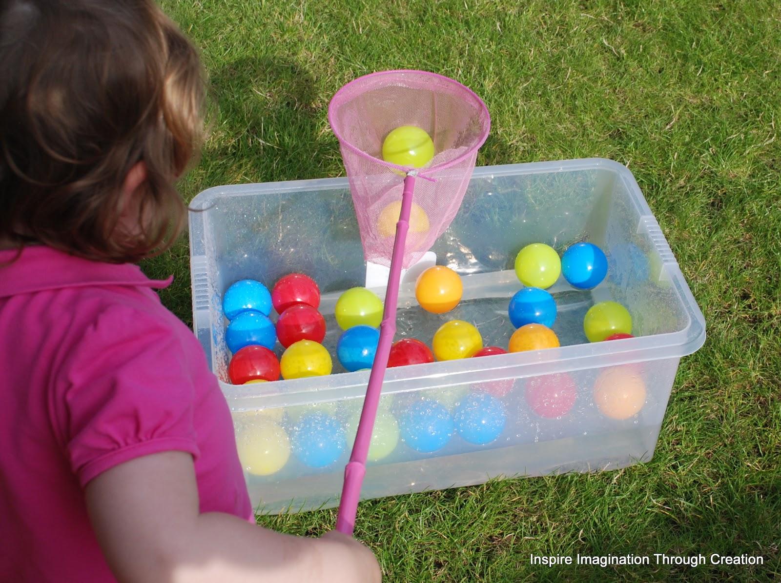 Inspire Imagination Through Creation Toddler Olympics