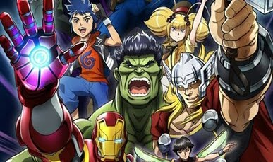 Marvel Reveals New Anime Future Avengers To Air This Summer.