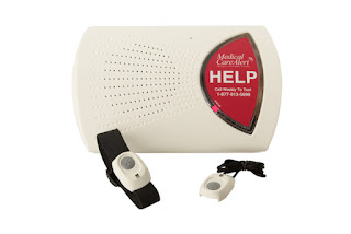 medical alert system with automatic fall detection