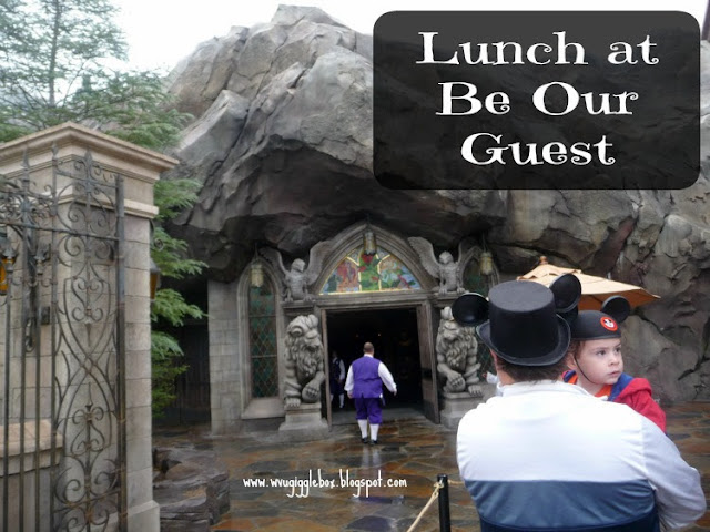 Be Our Guest Restaurant at the Magic Kingdom, Walt Disney World vacation,