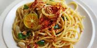 Resepi Spaghetti Tuna Simple