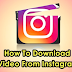 How to Get A Video From Instagram