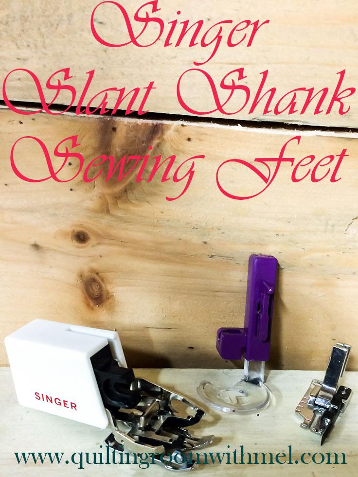 singer slant shank feet pinterest
