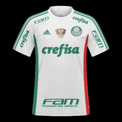 60b4bb0ce88ca GT Camisas  Camisas Palmeiras 2015   2016 Libertadores 2016 - Home ...